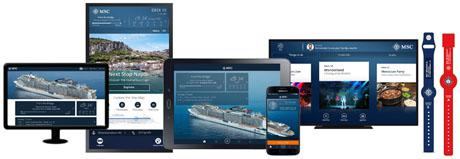 MSC Cruises Passengers to Get Onboard Mobile Payments and Tailored Holidays with NFC, Beacons and Bio-metrics