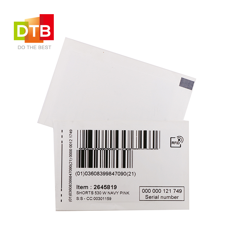 RFID Satin Fabric Tag
