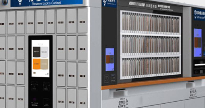 RFID Products for Self Service Library