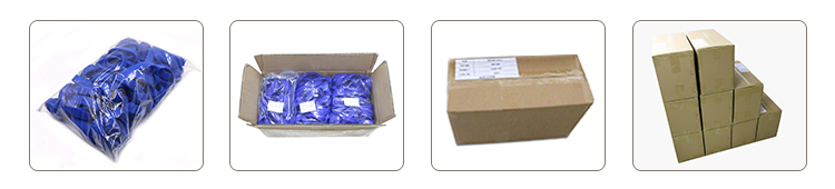 Packing Details For RFID Silicone Wristband