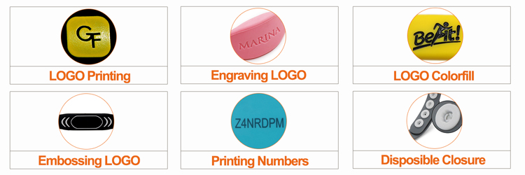 Personalization Options of RFID Silicone Wristband